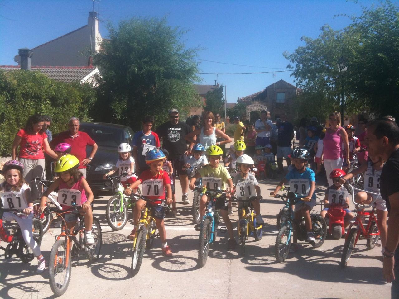 Carrera bicis infantil 2013