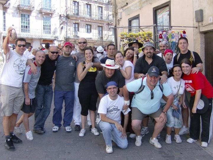 Desfile de peñas Sepulveda 2010