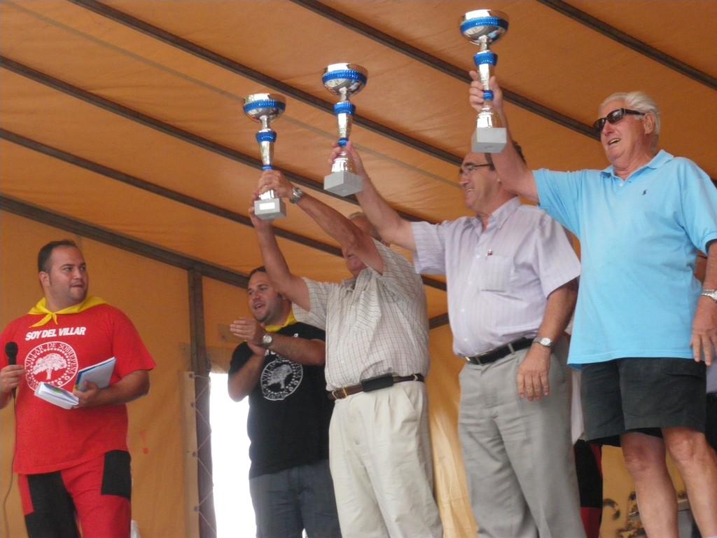 Entrega de trofeos 2011