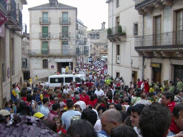 Desfile de peñas Sepulveda 2007