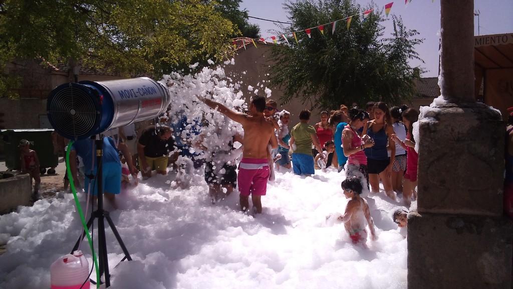 Fiesta de la espuma 2012