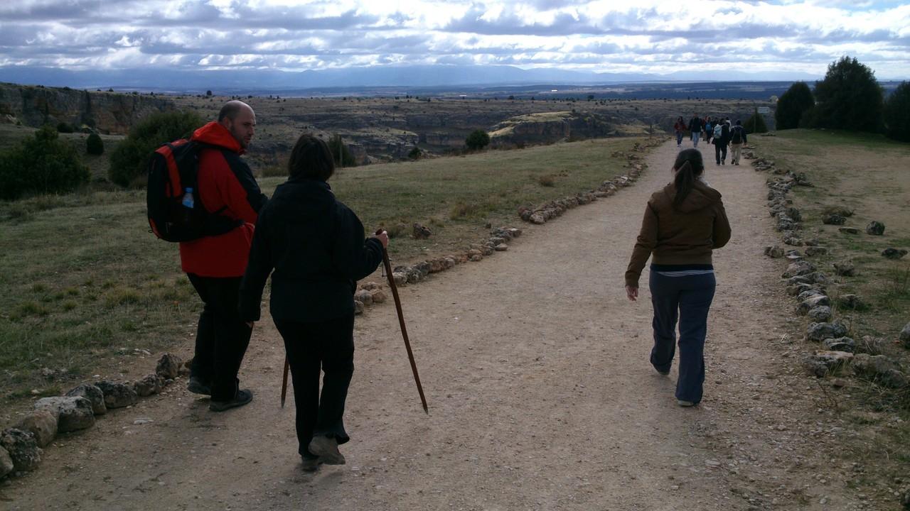 1ºMarcha Camino San Frutos 2012