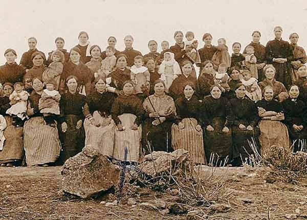 SANTA AGUEDA principios 1900 Donada por Gemma Elvira Sebastian