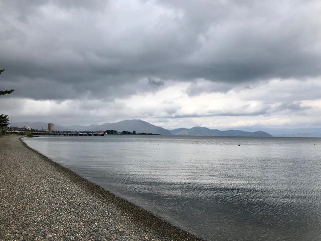 近江今津 琵琶湖