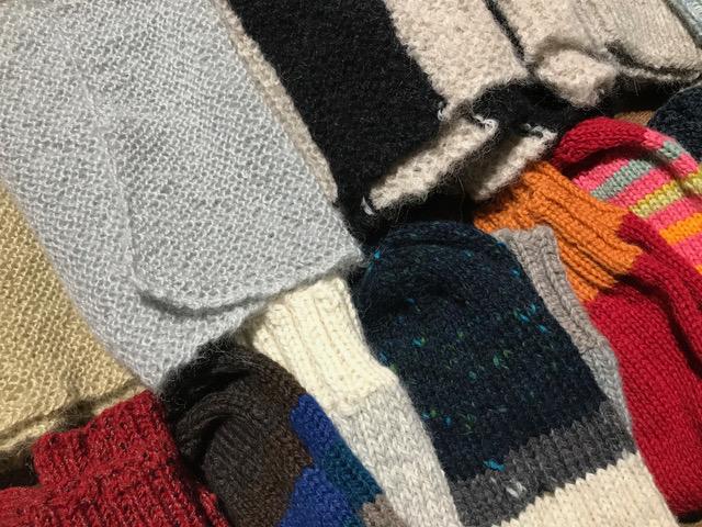 トミコさんの手編み靴下