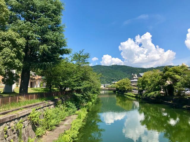 京セラ美術館南側 疏水