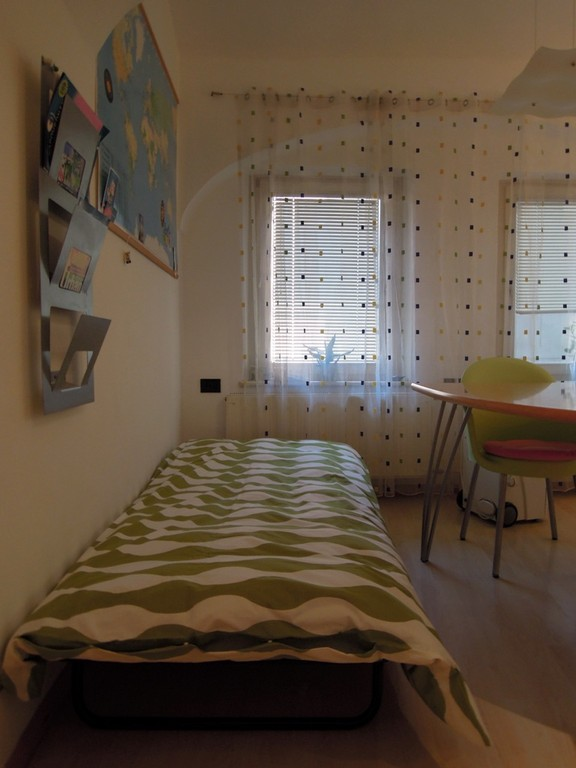 Optional third bed in the living room for a bigger kid or very good friend :)