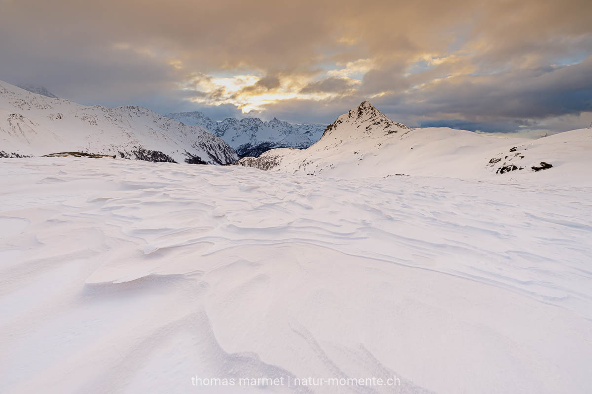 Winterwunderland am Berninapass