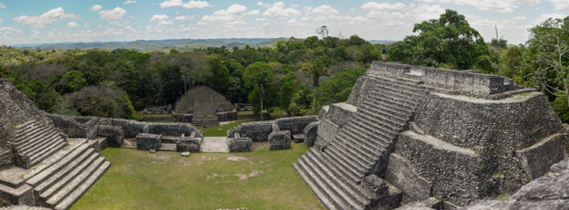 Maya Stätte Caracol