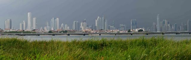 Skyline Panama Stadt