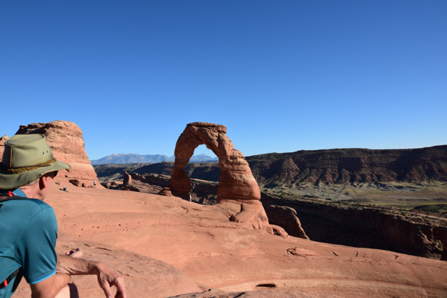 Delicate Arch at 16:00 Uhr