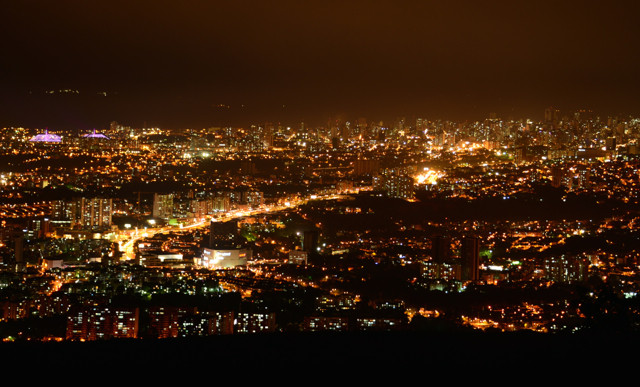 Bucaramanga by night