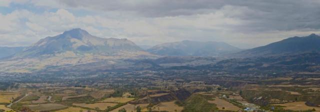 Sicht auf Otavalo