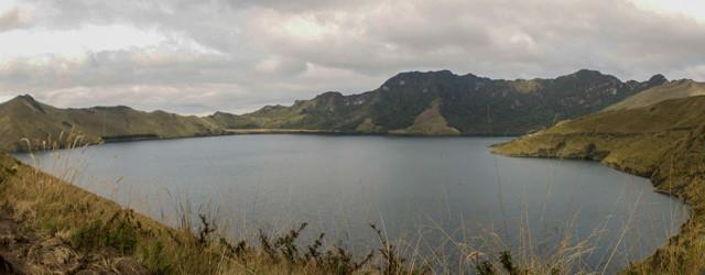 Aussicht auf die Lagune Majanda