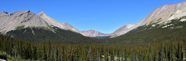 Sicht ins Tal