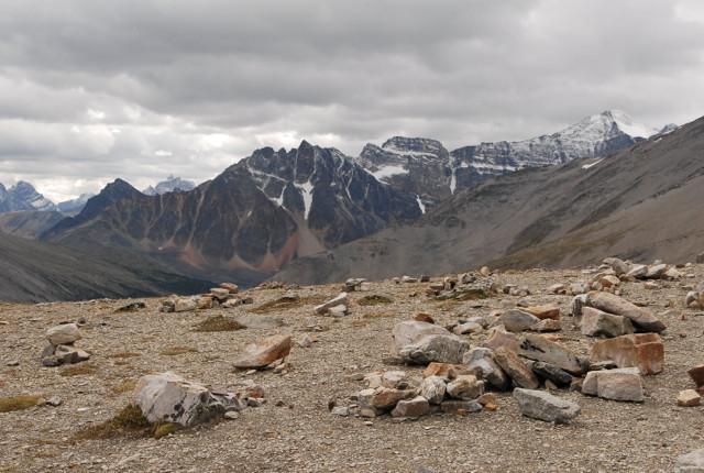 auf dem Gipfel des Mt.Whistler 2264 m