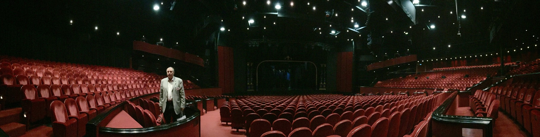 Leider haben wir nicht im Musical-Saal tagen dürfen ...
