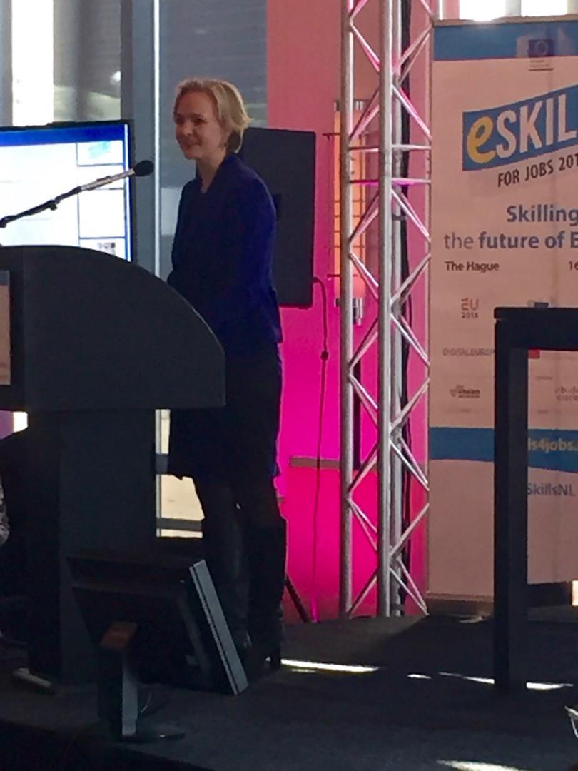 Marietje Schaake, MEP, eSkills Ambassador