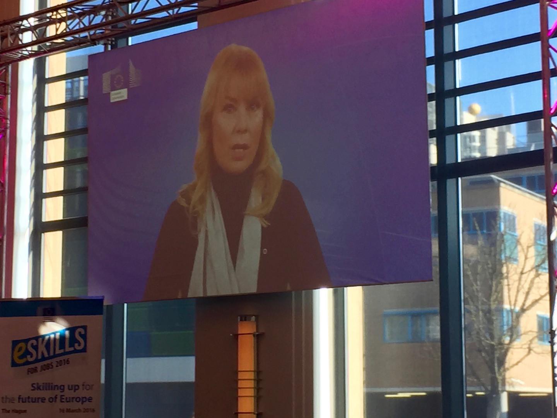 Elzbieta Bienkowska, EU-Kommissärin (Internal Market, Industry, Entrepreneurship and SMEs