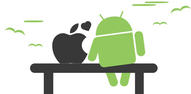 iOS - Android in love