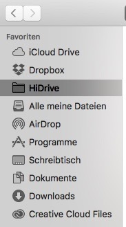 Mein Mac Finder