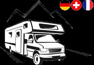 Logo Wohnmobilstellplatz  und Reisemobilpark Lörrach