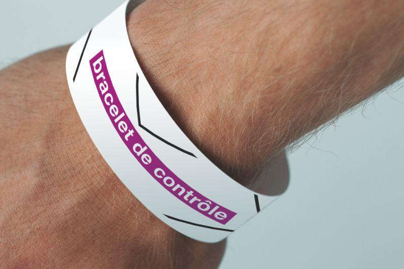 Bracelet de contrôle