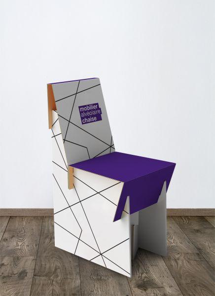 Chaise carton