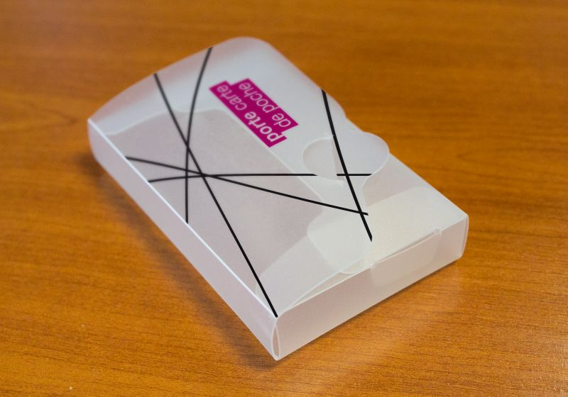 Porte-cartes de poche