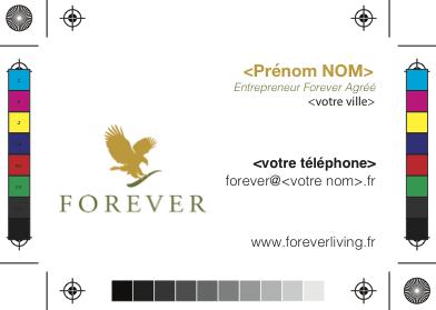 CARTE DE VISITE FOREVER LIVING