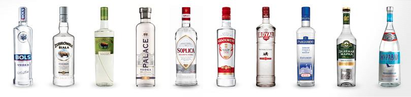 photo des vodkas de Loupabuni