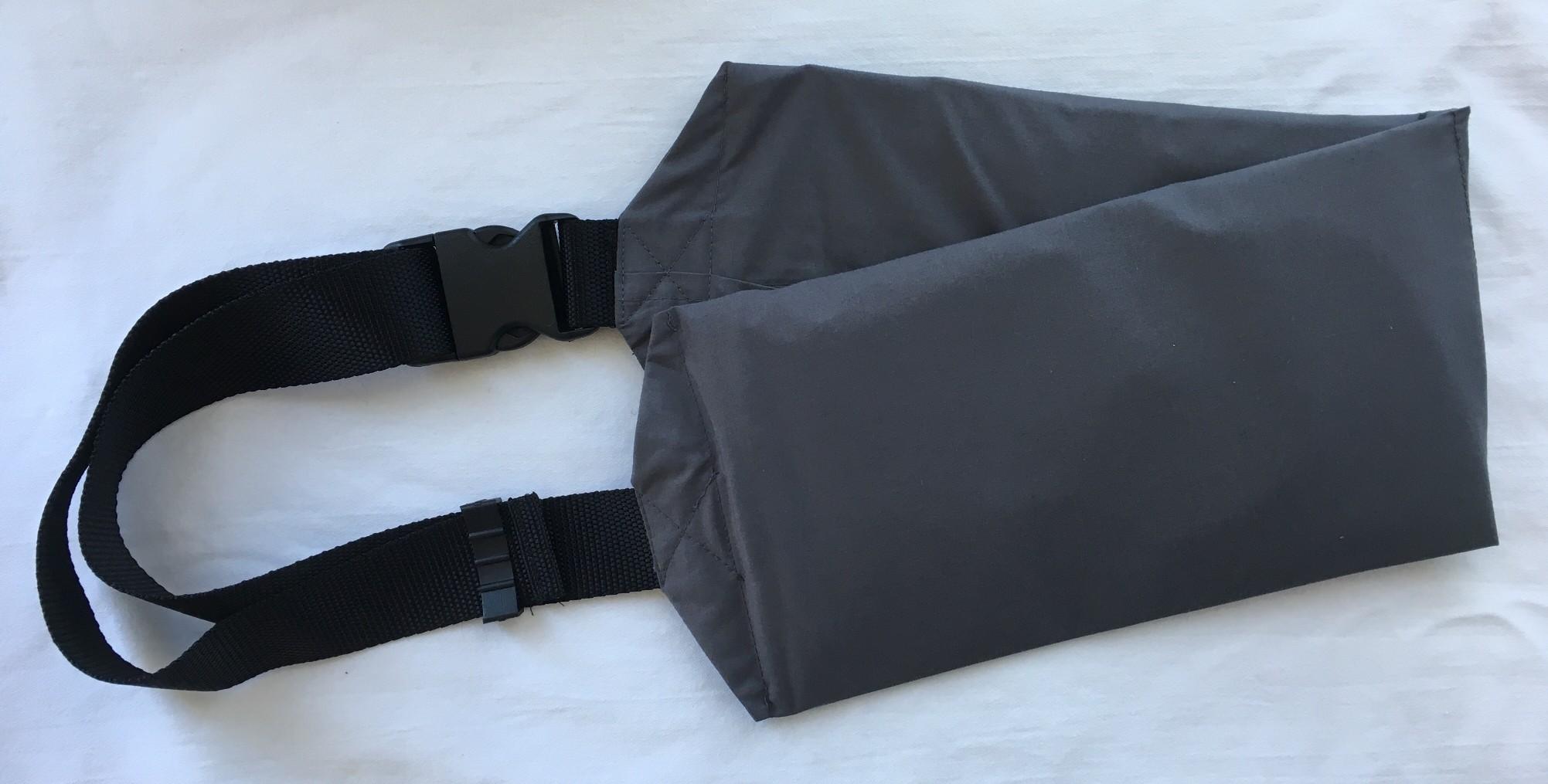 Ceinture de 2 poches de 200gr de poudre de Shungite