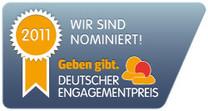 Deutscher Engagementpreis 2011