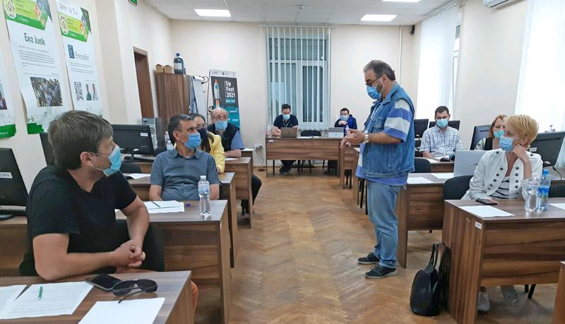 Валерій Пичко. Лекція у Маріуполі.