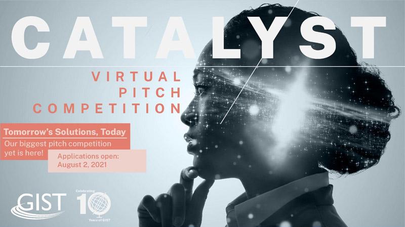 УВАГА! Конкурс пітч-презентацій 2021 GIST Catalyst!
