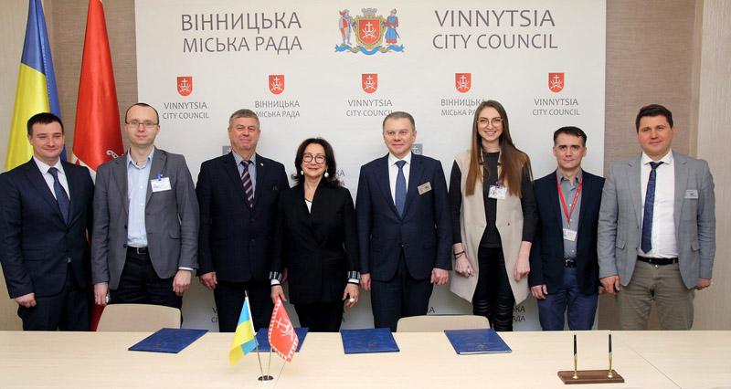 Новини колег: у Вінниці підписали Меморандум про наміри щодо створення та підтримки Інноваційного кластеру у місті