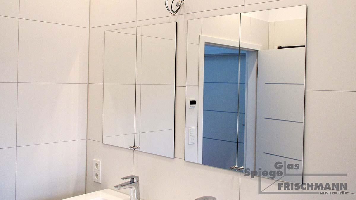 Spiegeltürenschrank flächenbündig