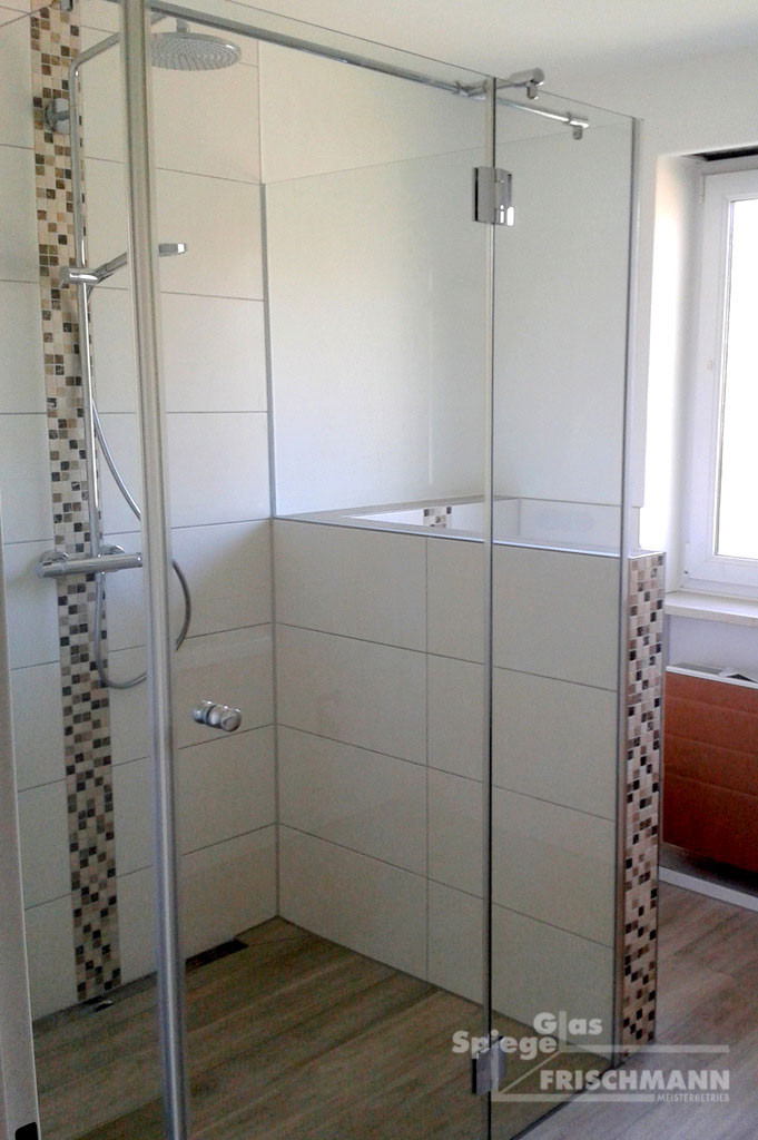 glasduschen glas spiegel frischmann. Black Bedroom Furniture Sets. Home Design Ideas