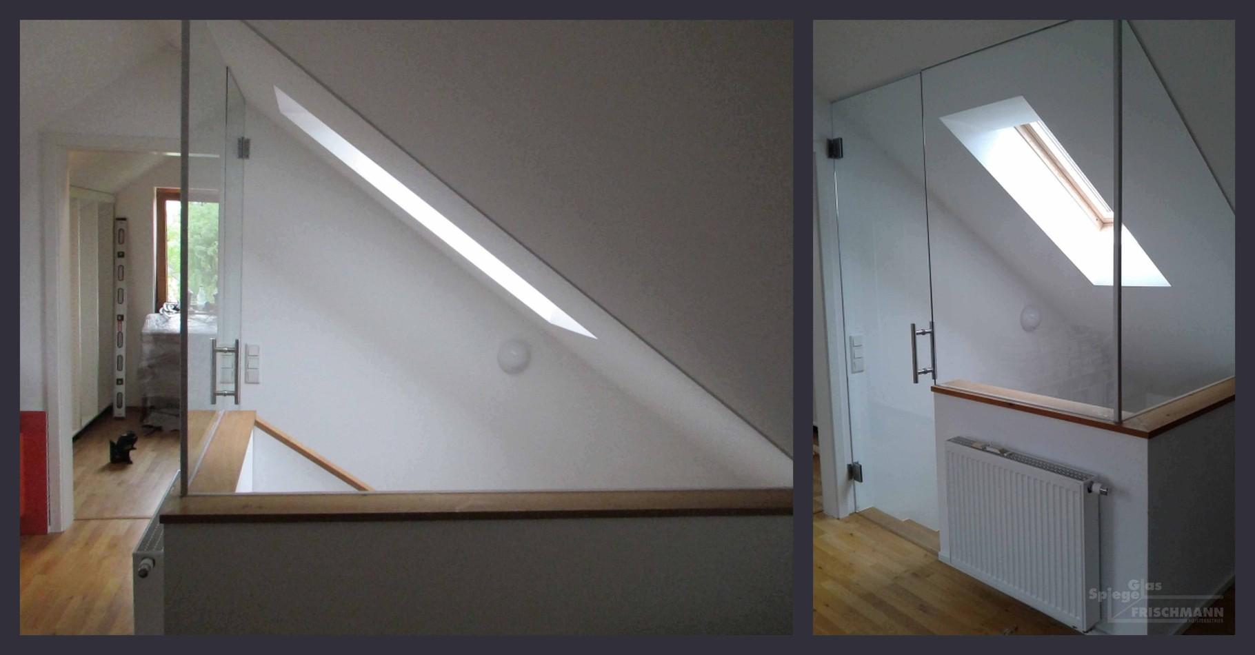 Absturzsicherung Und Treppengelander Glas Spiegel Frischmann