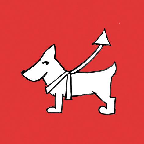 Hund Leine (Sympathiefigur)