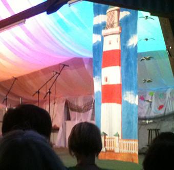 Leuchtturm – Kulisse für ein Chorkonzert