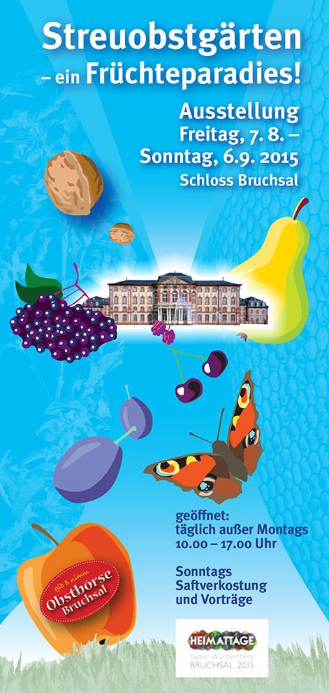 Plakat – Umweltstelle, Stadt Bruchsal