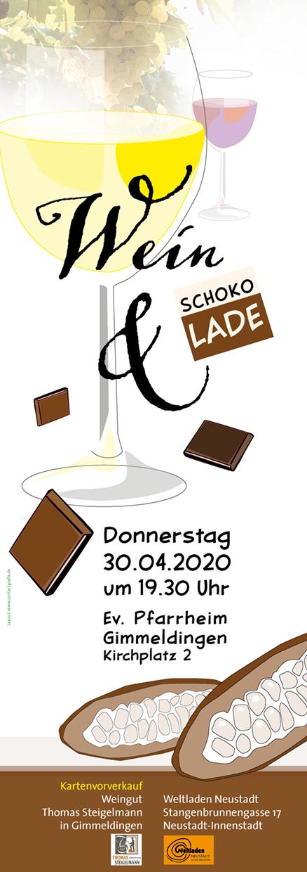 Plakat Weinprobe