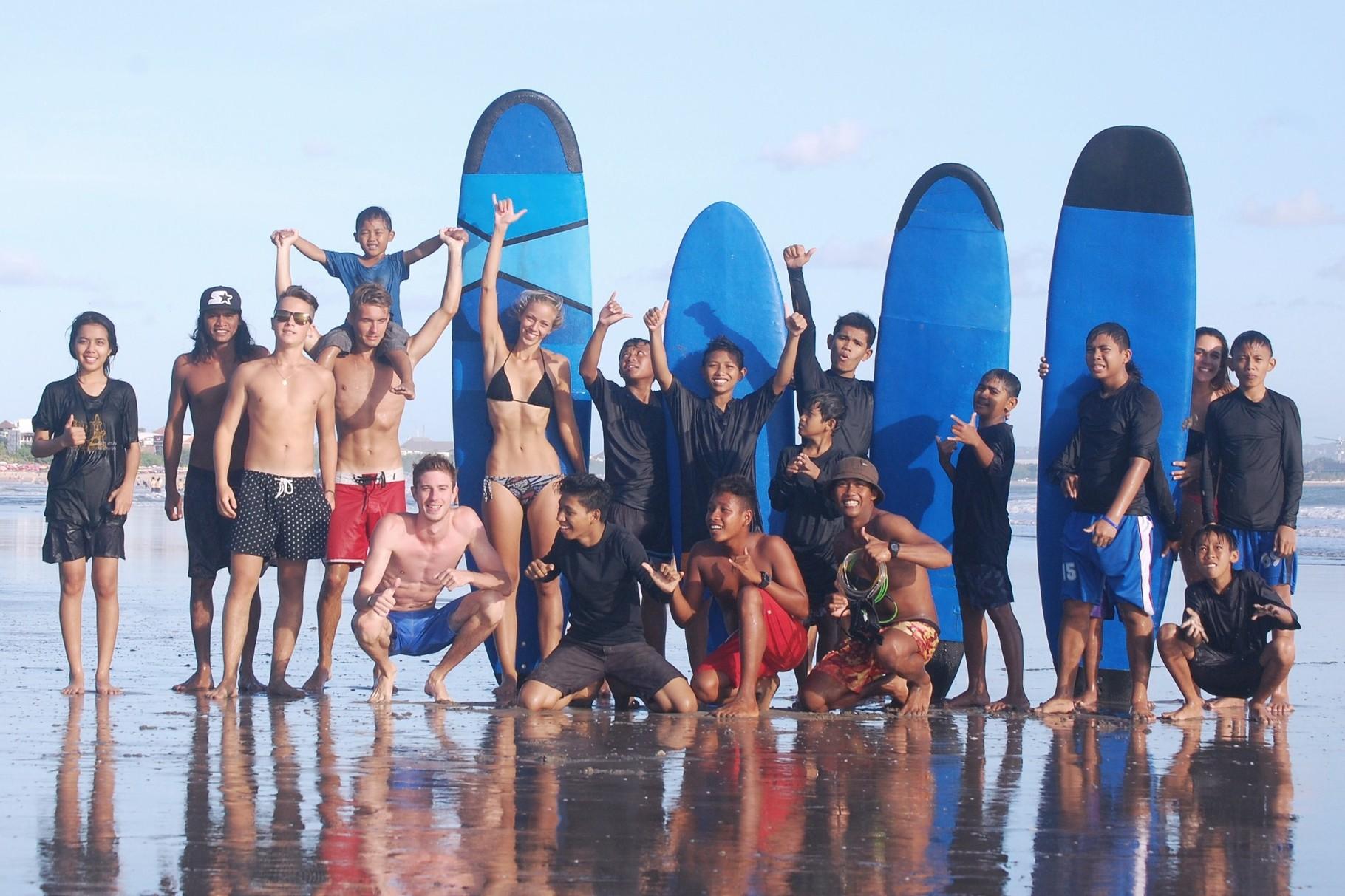 Bali Green Surf Hilfsprojekt
