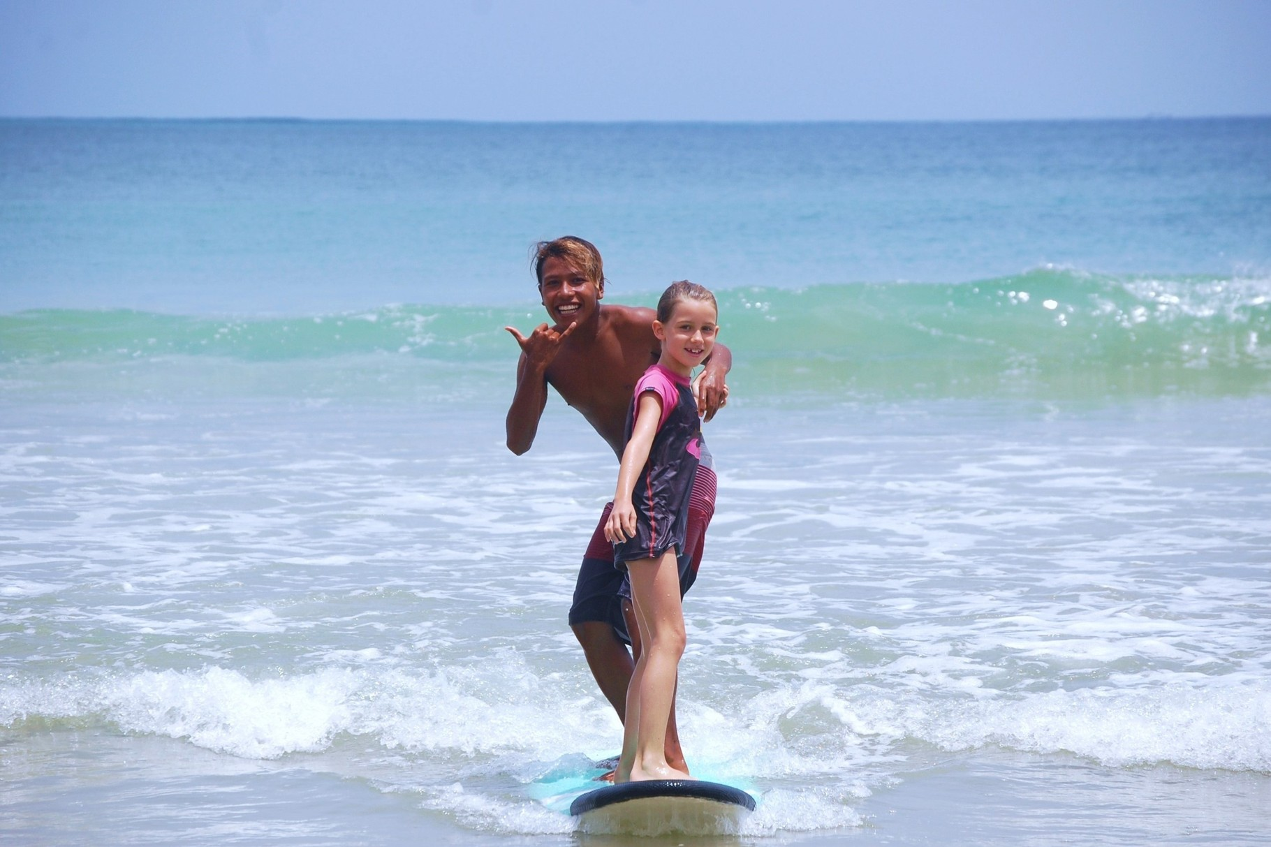 Beginner Surf Lesson Bali Seminyak