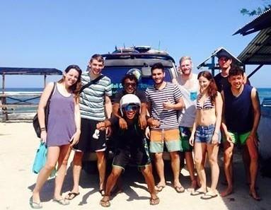 surf trip Bali