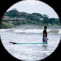 surf camp Seminyak