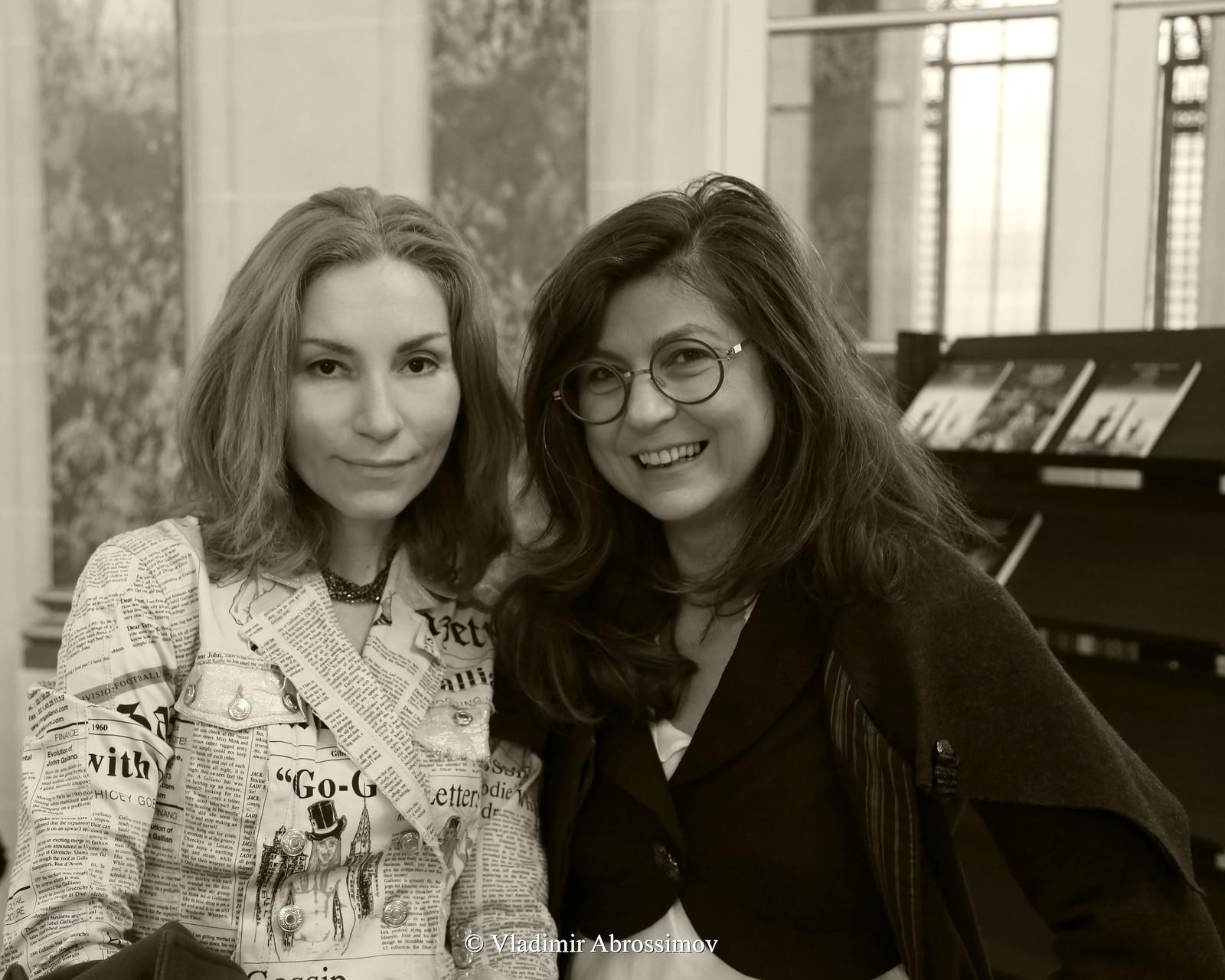 Наталия Богдановская и Албена Димитрова