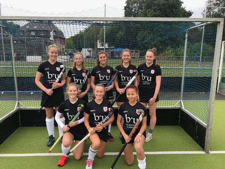 SG Weibliche Jugend-B DHG/Iserlohn Westfalenmeister Kleinfeld 2019