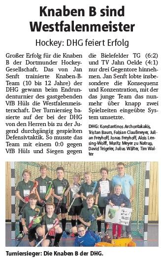 Ruhr-Nachrichten, 24.01.2017
